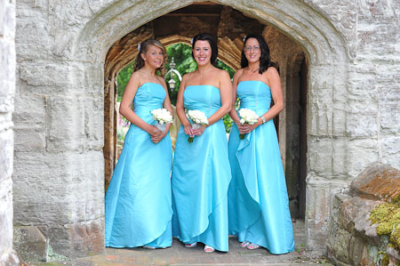 Bridesmaids at Lapworth Church