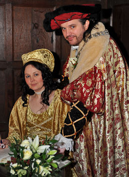 Medieval Costume Wedding at Kenilworth Gatehouse