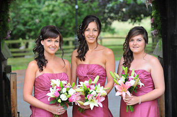 Bridesmaids at Sherbourne
